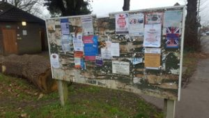 Village Notice Boards