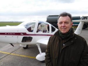 Jim Forrest visits Glider Club